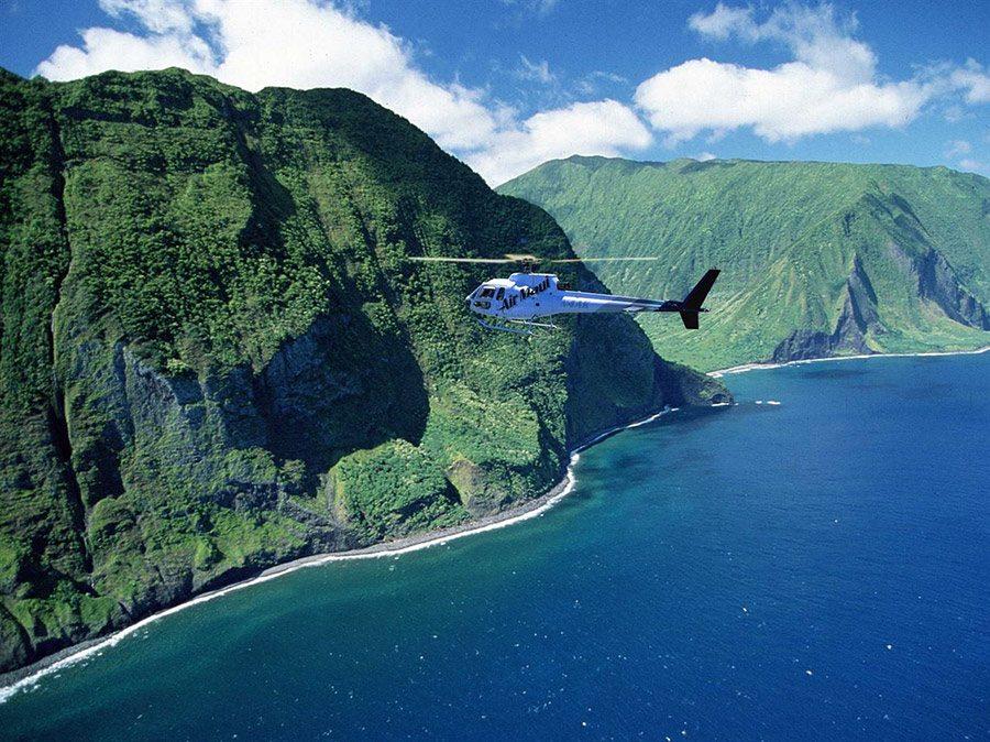 Maui Helicopter Tour  West MauiMolokai Flight
