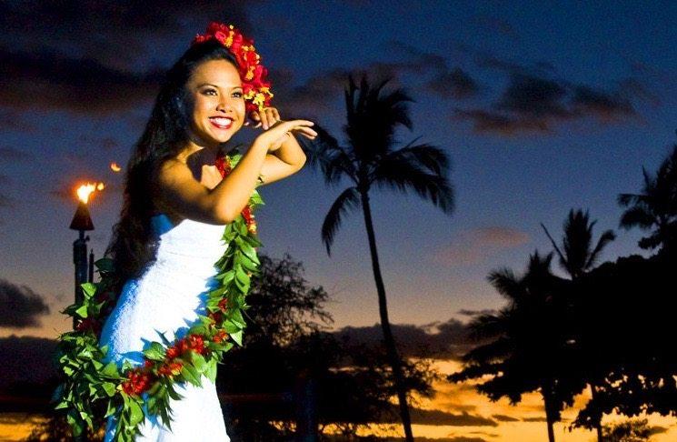 Maui Luau Wailea Beach Front Marriott