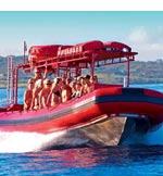 Redline Rafting Awesome Snorkel Tour to Molokini and Kanaio Coast