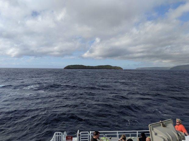 View of Molokini from Calypso Maui